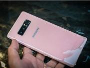 Cận cảnh Galaxy Note 8 màu hồng giá 17 triệu đồng tại Việt Nam