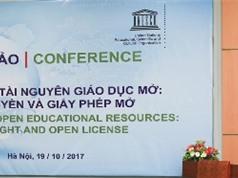 Bản quyền và giấy phép mở với tài nguyên giáo dục mở