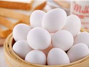 Cách phân biệt trứng gà bị tẩy trắng