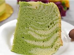 Clip: Công thức làm món bánh phô mai trà xanh thơm mát