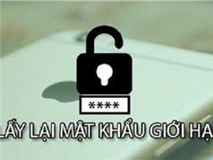 NHỮNG THỦ THUẬT HAY NHẤT TUẦN: Lấy lại mật khẩu giới hạn trên iOS, mẹo tân trang smartphone cũ