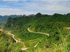 """Đèo Khau Liêu - cung đường thách thức những """"tay lái lụa"""""""