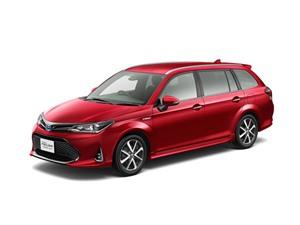 Xe gia đình Toyota Corolla Fielder giá 333 triệu đồng tại Nhật Bản