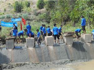 Tuổi trẻ Gia Lai chung sức xây dựng nông thôn mới