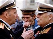 Ảnh màu nước Nga sau khi Liên bang Xô Viết tan rã