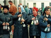 Ngắm nhìn ảnh màu về nước Nga 25 năm trước