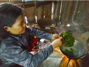 Lạ miệng với món ăn từ lá sắn của người Ba Na