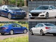 So sánh Toyota Camry và Honda Accord 2018