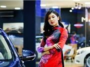 Ngắm dàn người mẫu xinh đẹp tại triển lãm VIMS 2017