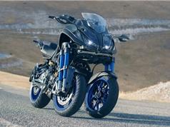 Yamaha Niken Leaning Multi-Wheeler 2018 lộ diện, ba bánh xe, 4 phuộc ngược