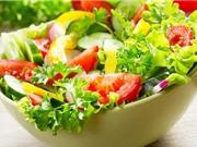 Cách làm salad rau cho người ăn kiêng