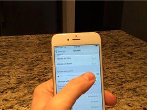 Cách tắt báo rung khi iPhone ở trạng thái im lặng