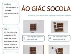 Thử sức cùng khoa học: Ảo giác socola