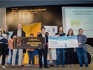 HATCH! Competition Series 2017: GaraSTEM đoạt hai giải thưởng