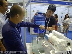Nhiều công nghệ xử lý nước hiện đại được giới thiệu tại Vietwater 2017