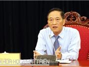 Thứ trưởng Trần Văn Tùng: Khởi nghiệp chỉ thành công khi sản phẩm chiếm lĩnh thị trường