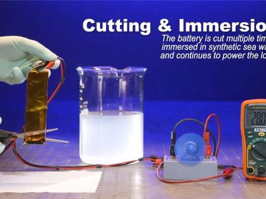 Loại pin mới không gây cháy nổ, chịu được mọi điều kiện khắc nghiệt