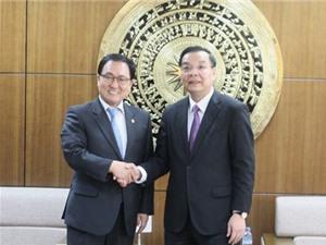 Bộ trưởng Bộ Khoa học Hàn Quốc cam kết hỗ trợ thúc đẩy phát triển V-KIST
