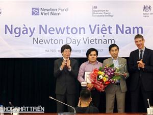 Dự án xã hội kết nối cho thành phố tương lai nhận 7 tỷ đồng từ Giải thưởng Newton