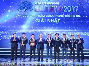 Ứng dụng thực tại ảo 3D giành giải Nhất Nhân tài Đất Việt 2017