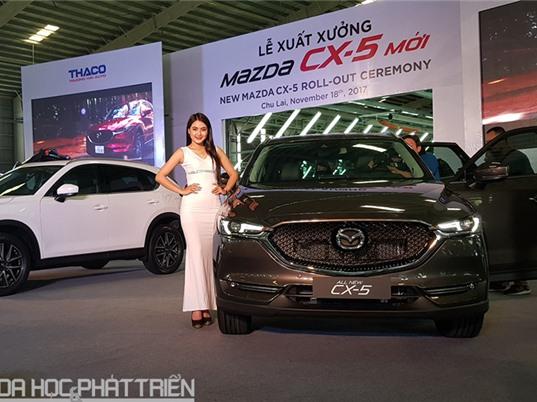 Tung mẫu xe Mazda CX-5 mới, Thaco tuyên bố tiếp tục giảm giá xe sau 1/1/2018