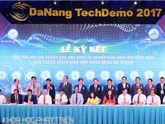 Hơn 250 tỉ đồng được ký kết trong ngày khai mạc TechDemo 2017