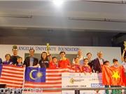 Việt Nam giành giải Nhất tại Ngày hội Robothon Quốc tế 2017