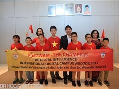 Việt Nam giành ngôi Vô địch ở cả 3 hạng mục thi lập trình WeCode 2017