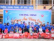 Đoàn Thanh niên Bộ KH&CN mang hơi ấm đến trẻ em vùng cao