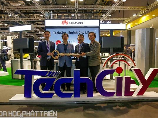 LG U+ và Huawei khai trương TechCity tại Seoul