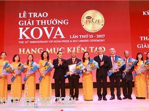 Giải thưởng KOVA lần thứ 15: Tôn vinh công trình y học có tính ứng dụng cao