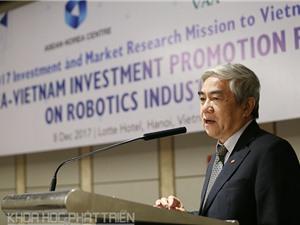 Việt Nam - Hàn Quốc đẩy mạnh hợp tác ngành công nghiệp Robot