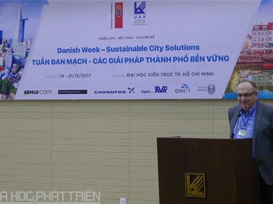 Đan Mạch chia sẻ kinh nghiệm phát triển thành phố bền vững