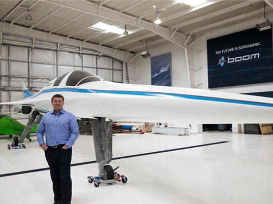 Kế bước Concorde, một startup tham gia làm máy bay siêu thanh