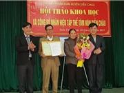 Công bố nhãn hiệu tập thể cho Tôm nõn Diễn Châu