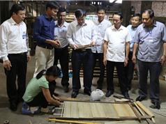 """Bắc Ninh: Công bố nhãn hiệu tập thể """"Tre trúc Xuân Lai"""""""