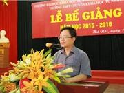 PGS-TS Vũ Hoàng Linh - Phó Hiệu trưởng ĐH Khoa học tự nhiên, Hà Nội: Cần yêu cầu sản phẩm đầu ra của đề tài nghiên cứu