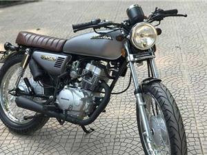 Môtô Honda CG125 độ chất chỉ 11 triệu đồng ở Hà Nội