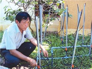 Ông Nguyễn Văn Hai - nhà sáng chế nhiều loại máy bơm