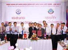 Việt - Lào thỏa thuận chương trình hợp tác mới