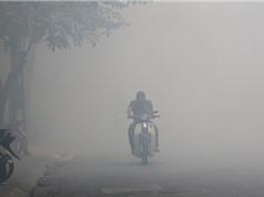 Sáng 25/12, không khí Hà Nội thuộc top ô nhiễm nhất thế giới