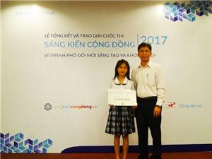 TPHCM: Trao giải Cuộc thi Sáng kiến cộng đồng 2017