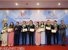 9 tài năng trẻ KHCN xuất sắc nhận giải thưởng Quả cầu vàng 2017