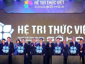 Khởi động Hệ tri thức Việt số hóa