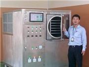 Việt Nam chế tạo thành công thiết bị sấy thăng hoa kết hợp bơm nhiệt