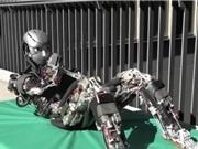 Robot biết đổ mồ hôi khi tập thể dục