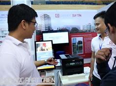 """Máy in đa năng """"tự phục vụ"""" của Đại học Duy Tân"""