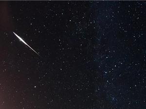 Mưa sao băng đầu tiên của năm 2018 đạt cực đại vào rạng sáng 4/1