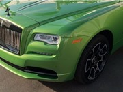 Rolls-Royce Wraith màu xanh cốm giá hơn 400.000 USD