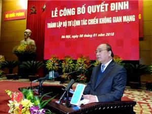 Thủ tướng giao nhiệm vụ cho Bộ Tư lệnh tác chiến không gian mạng